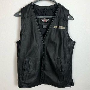Harley-Davidson Genuine Leather Vest Medium